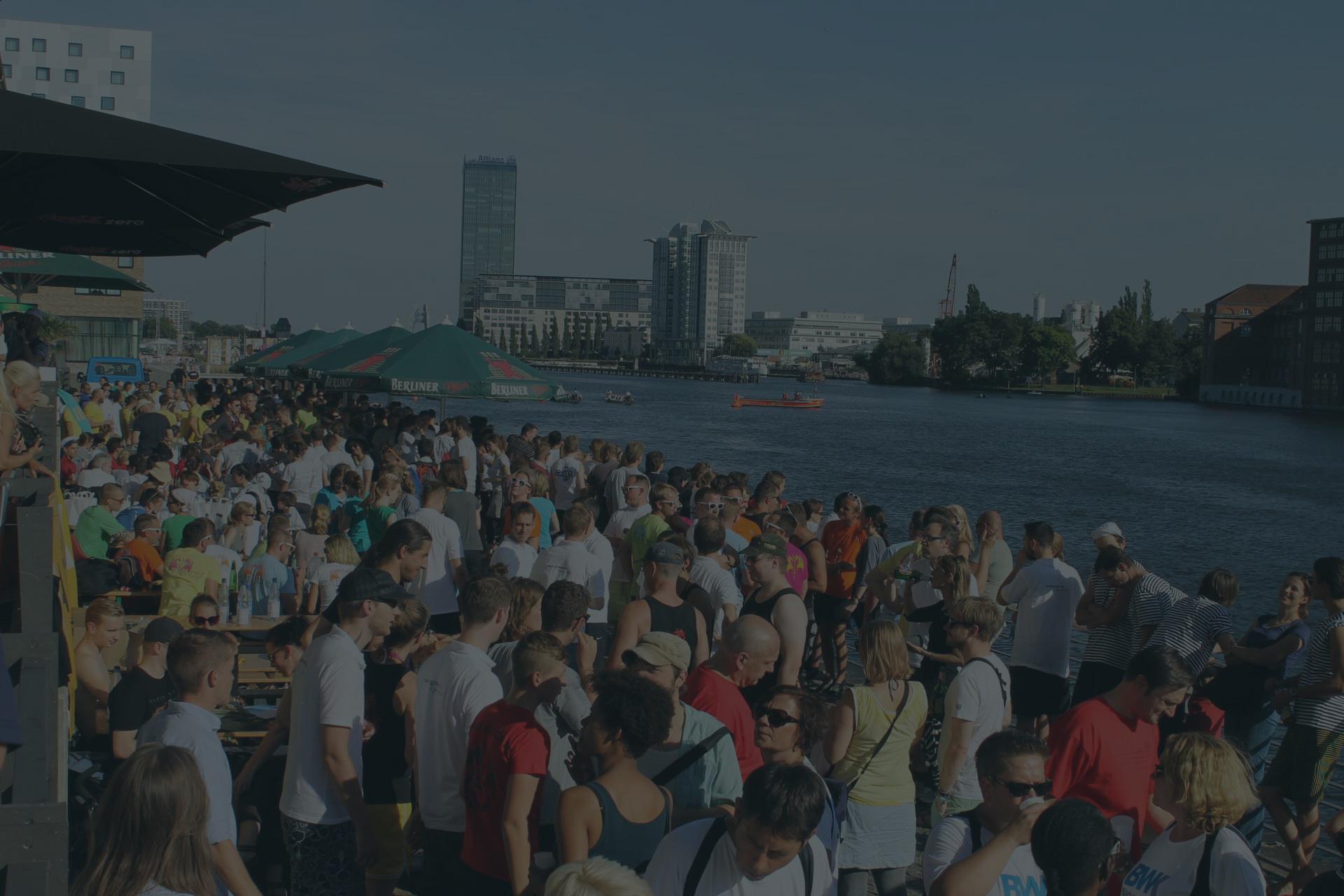 Große Gruppenevents in Berlin am Wasser