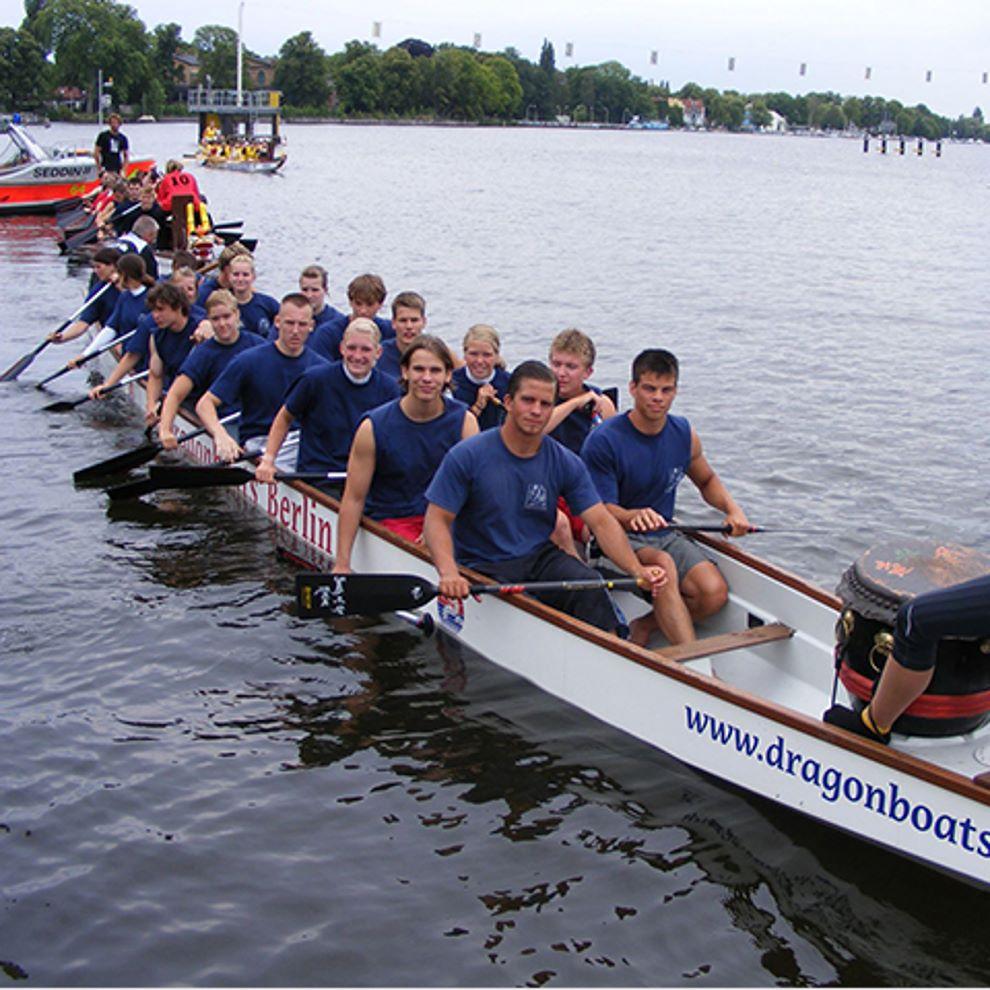 Drachenboot Leistungen